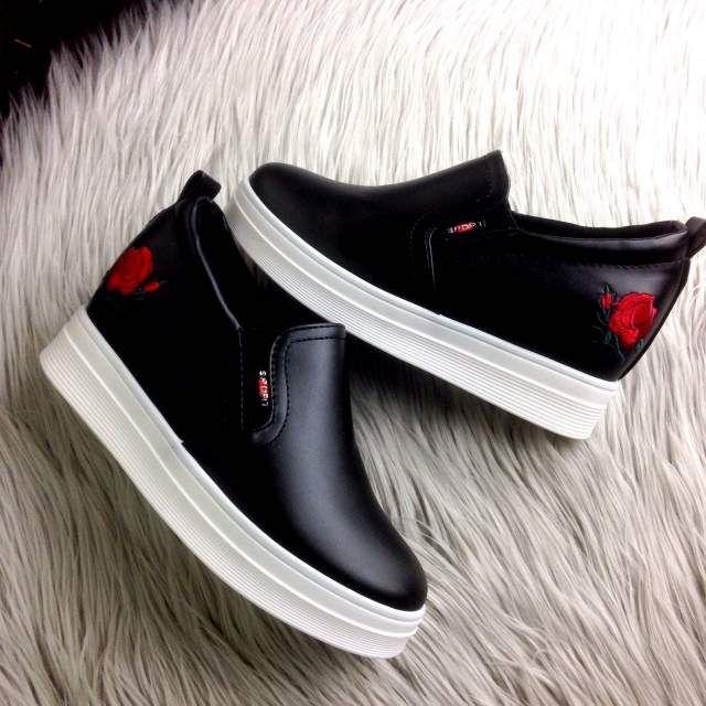 Sepatu Fashion Brianna Sneakers 918 Trendy Import Sepatu Sepatu