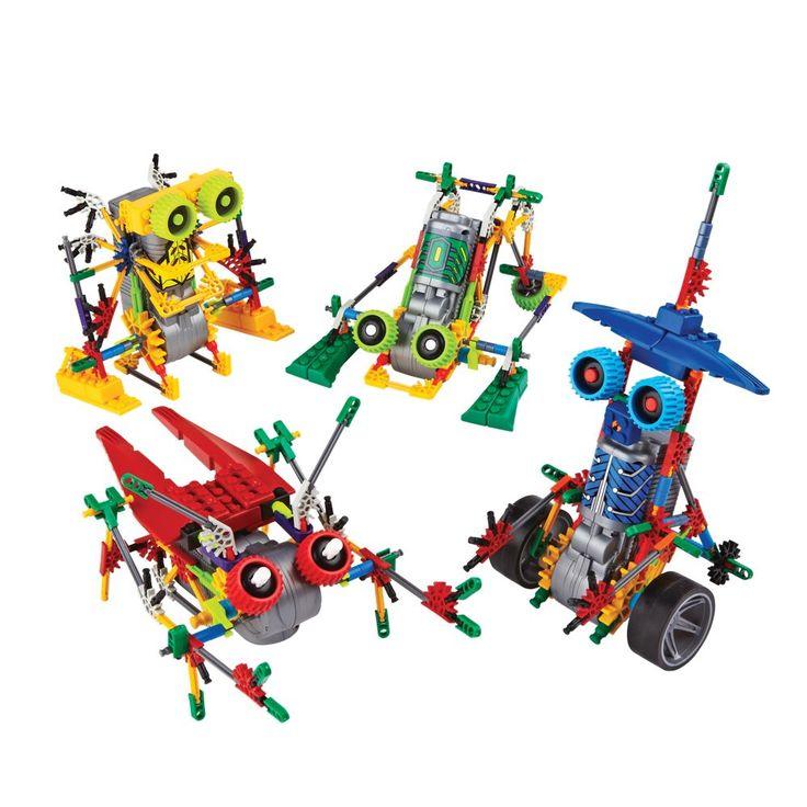 K'nex Robo Battlers - Set of 4 | National Geographic Store