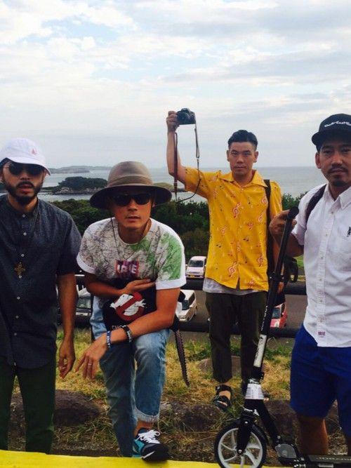 FIRE Bのライブで壱岐島きてます。