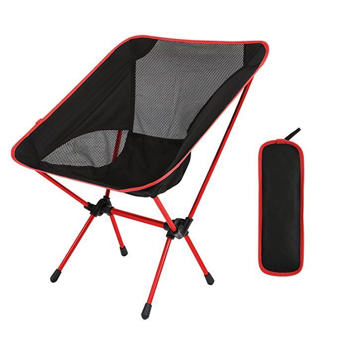 Outdoor Hiking Camping Beach Portable Folding Swivel Chair with Carry Bag
