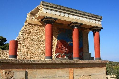 The Knossos Palace...