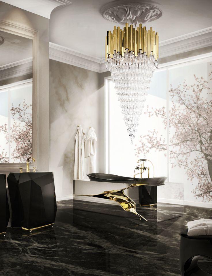 Trump Chandelier by Luxxu  #lightingdesign #moderndesign #luxurylighting lamp design, ambient lighting, luxury homes . See more at www.luxxu.net
