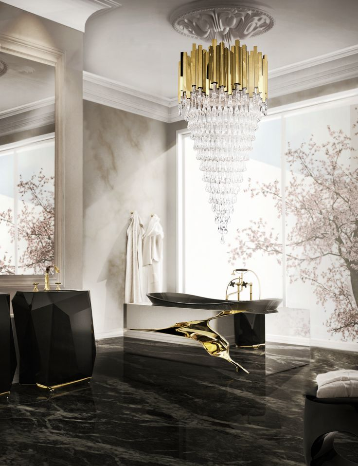 Trump Chandelier by Luxxu  #lightingdesign #moderndesign #luxurylighting lamp design, ambient lighting, luxury homes . See more at www.luxxu.net