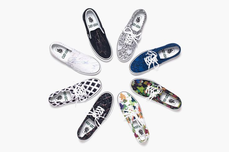 Kenzo x Vans 2012 Fall/Winter Footwear.: Shoes, Fashion, Vans, Style, Kenzo Fall Winter, Collection, Sneakers