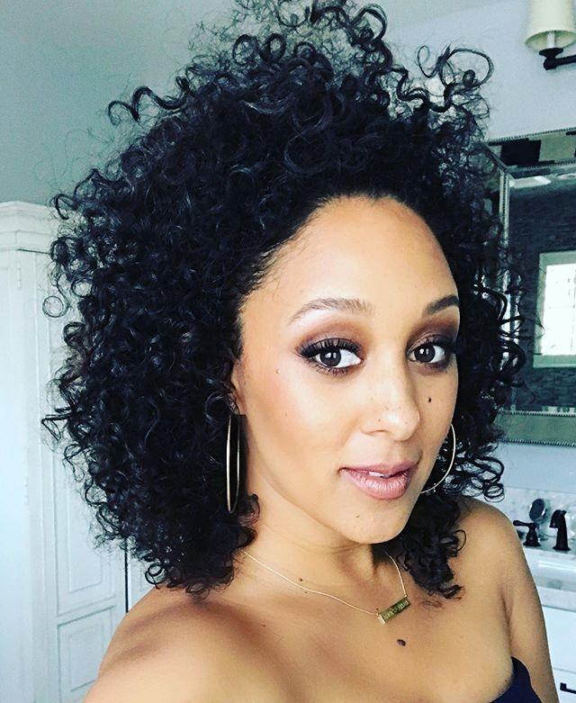 WEBSTA @ tameramowrytwo - Thank you @makeupbyliz and @curlfactor for an epic day. One that I will neva forget