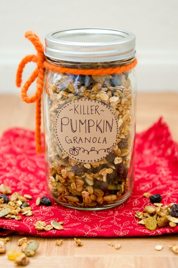 Killer Pumpkin Granola {Gluten-Free & Vegan }