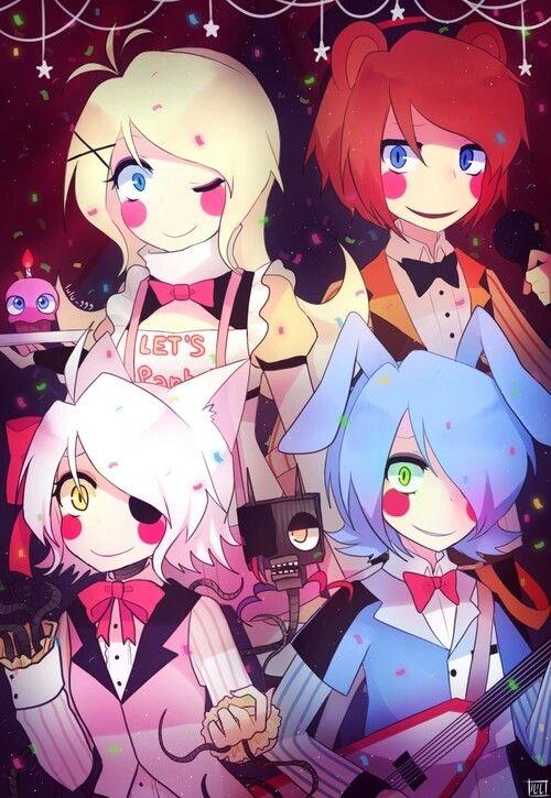 Look at this happy family/gang