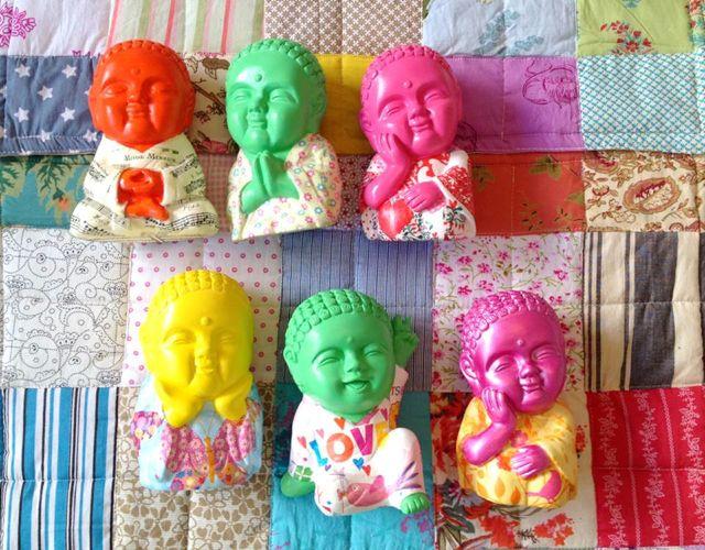 Budas Decoupage Casa Mystica
