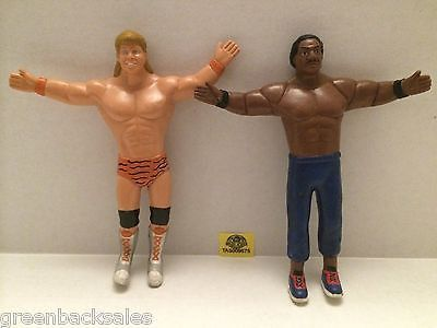 (TAS009575) - Wrestling Twistables Figure Lot - Brian Pillman & Ron Simmons