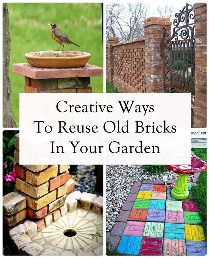 Creative Uses For Bricks: 11 Creative Ways To Reuse Old Bricks In Your Garden