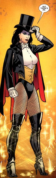 """""""But there's me."""" Zatanna"""