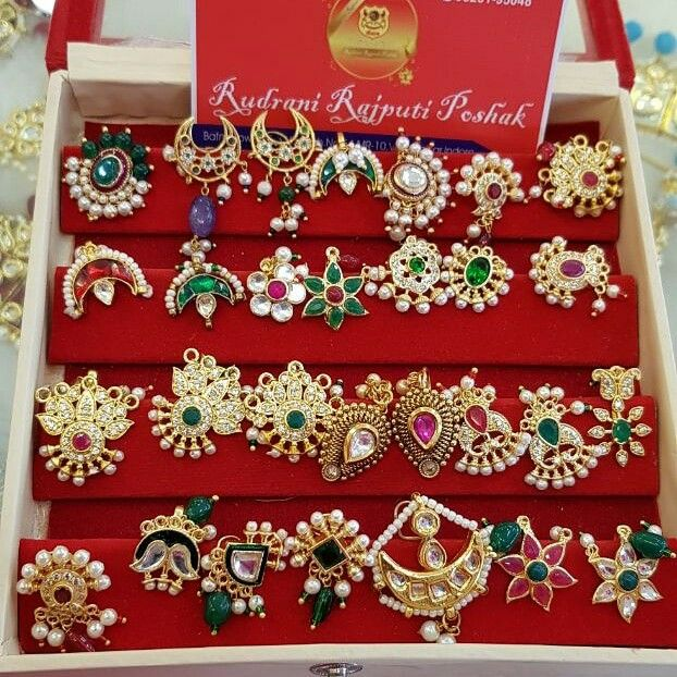 Besar New Collection Rajputi Jewellery Gold Jewelry Indian Rajput Jewellery