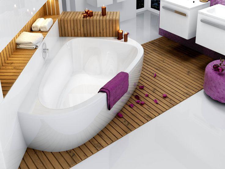 badewanne f r 2 personen raumsparbadewanne 195 x 140 cm. Black Bedroom Furniture Sets. Home Design Ideas