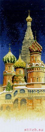 Gallery.ru / St. Basil's Cathedral JCSB581 - Internationals - by John Clayton - f-morgan