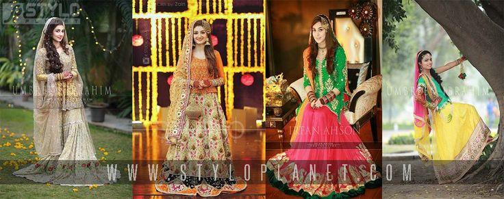 Best 25+ Pakistani Mehndi Dress Ideas On Pinterest