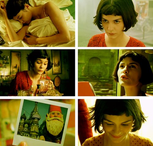 """Narrator: Amelie has a strange feeling of absolute harmony. It's a perfect moment. A soft light, a scent in the air, the quiet murmur of the city. A surge of love, an urge to help mankind overcomes her.""  Amelie - my favorite film"