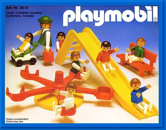 Playmobil. I still have boxes of it. Quite the collection. Can't wait for my girls to be old enough to enjoy it