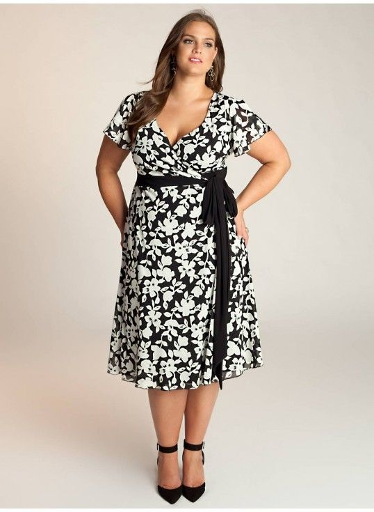 plus size dress plus size fashion pinterest mollig. Black Bedroom Furniture Sets. Home Design Ideas