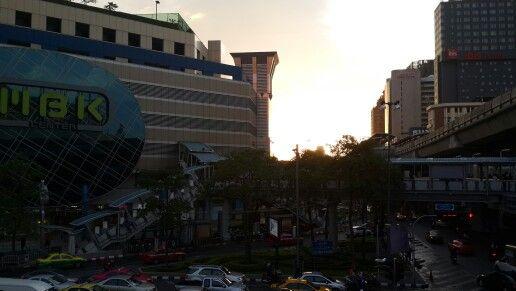 Senja at MBK,bangkok