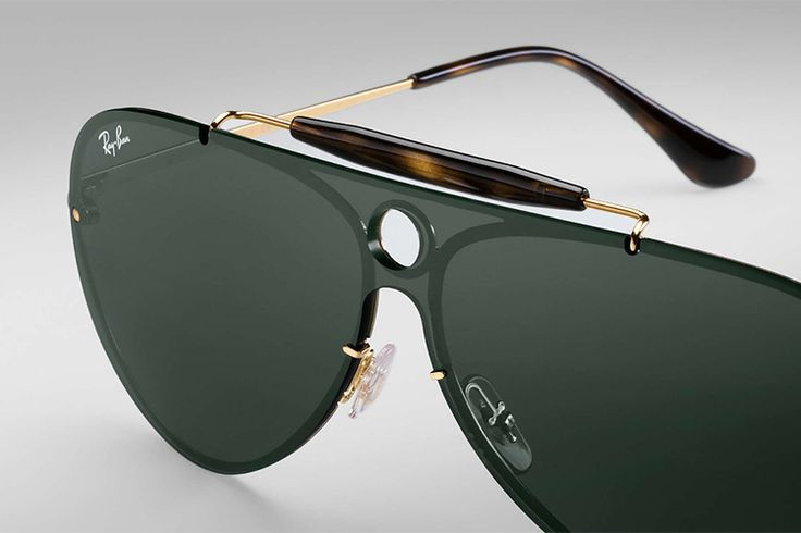 Ray-Ban Blaze Shooters Arent Your Normal Aviators | Man of Many