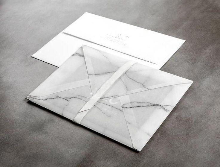 Wedding Invitations / Marble Wash Stationery / Wedding Style Inspiration / LANE…