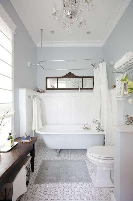 Die besten 25+ Grau weißes badezimmer Ideen auf Pinterest - tapete k che abwaschbar