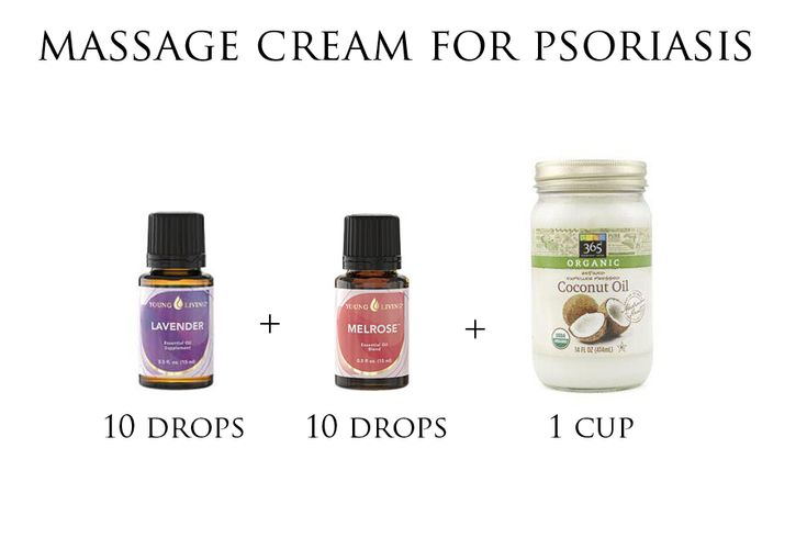 Psoriasis massage cream