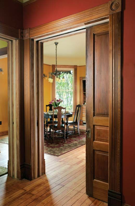 A Queen Anne House Reborn - 29 Best Antique Pocket Doors Images On Pinterest Pocket Doors