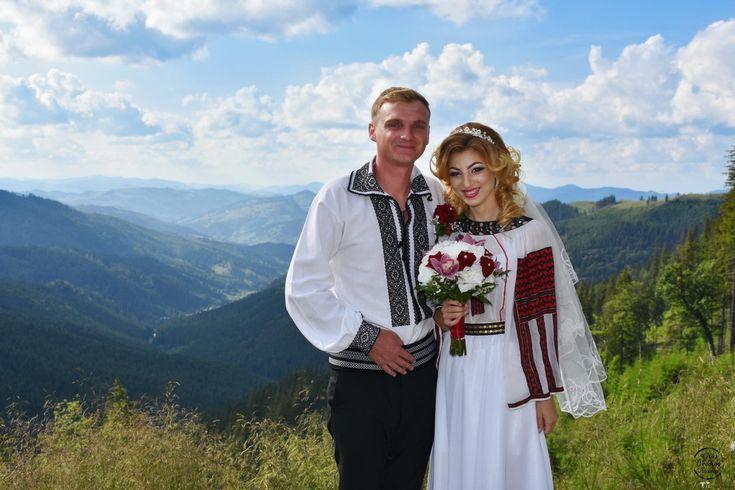 Ionela și Lucian. Nuntă tradițională la Sadova, Bucovina