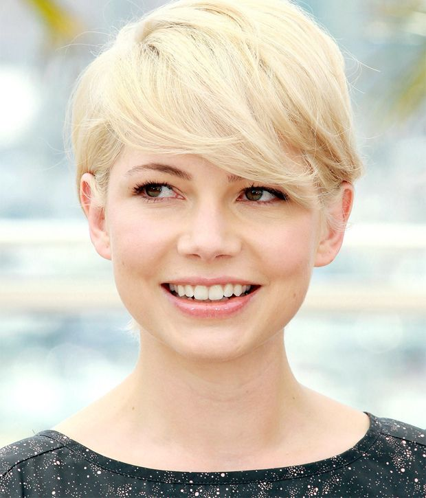 blonde pixie michelle williams