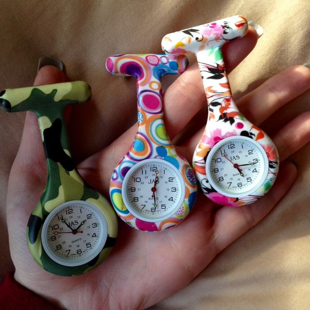 So cute & functional and tons of styles to choose from! Awesome nurse FOB watches at www.nursewatches.com