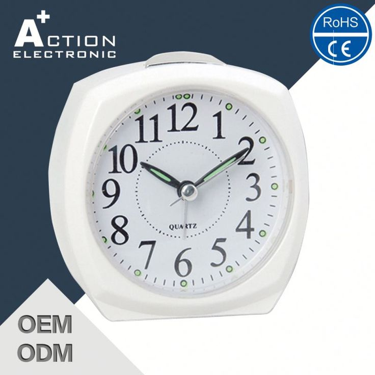 Manufacturer Hot Sale Good Quality Analogue Alarm Clock