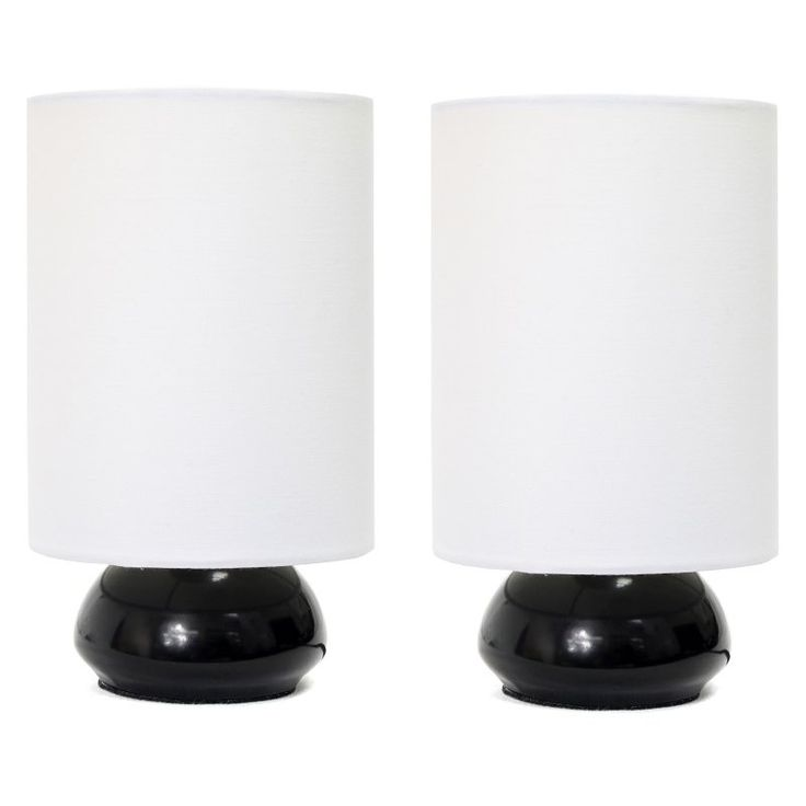 Home design versailles collection set of 2 touch lamps