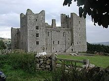 Bolton Castle in North Yorkshire, is located in Wensleydale in the Yorkshire Dales. The nearby village Castle Bolton takes its name from the castle. The castle is a Grade I listed building and a Scheduled Ancient Monument.[1][2] The castle was damaged in the English Civil War, but much of it remains.