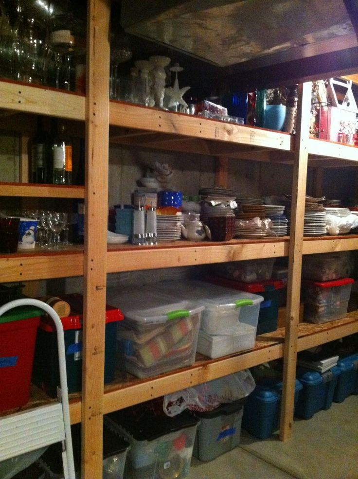how to build sturdy pantry shelves