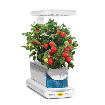 Miracle-Gro AeroGarden Sprout Led with Gourmet Herb Seed Pod Kit - White