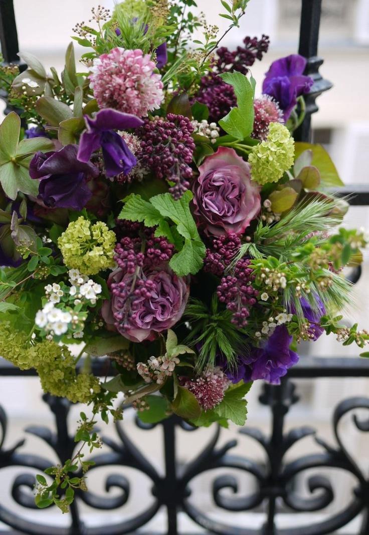 パリのお花屋さん