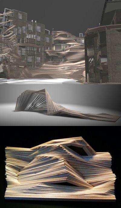 Formes, isolement, créer des espaces dans l'espace