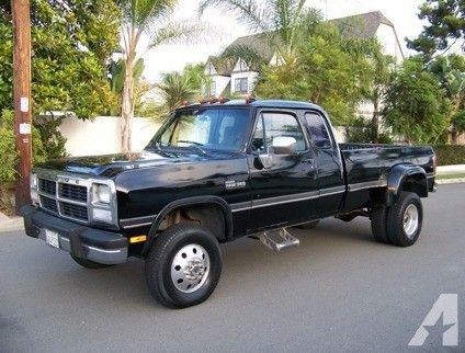 1993 Dodge Ram 3500 W-350 Cummins Turbo Diesel 4x4 for Sale in Colorado Springs, Colorado Classified | AmericanListed.com