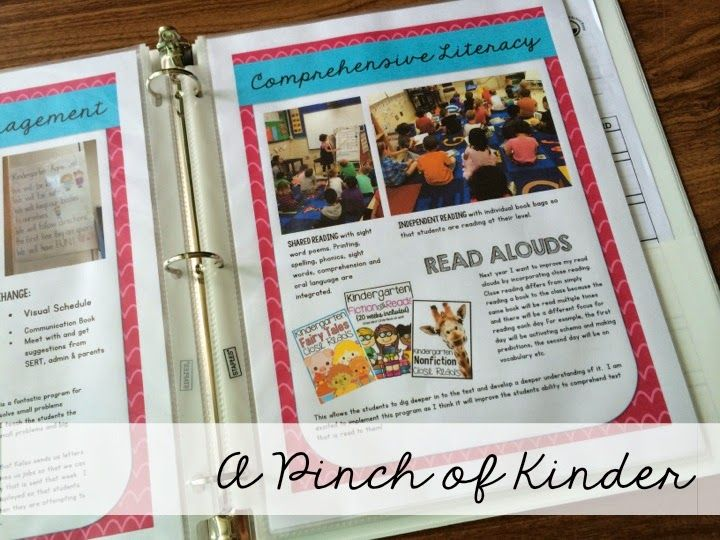 A Pinch of Kinder: Getting a Teaching Job: My Teaching Portfolio