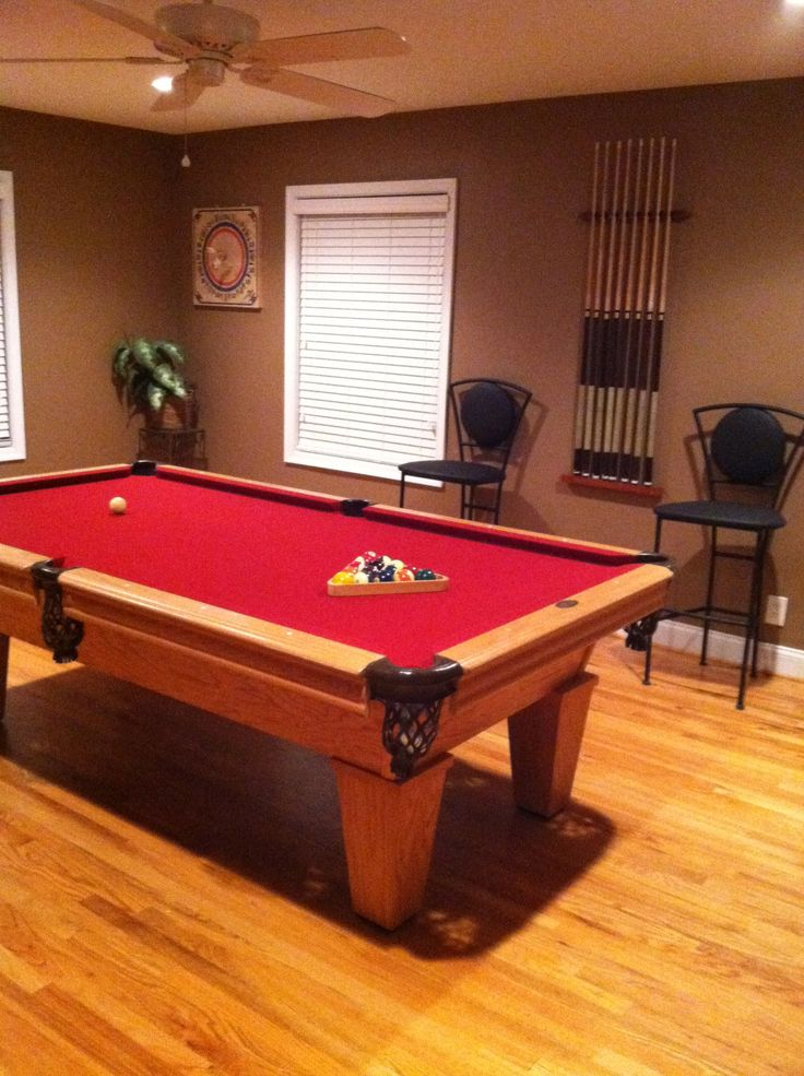 how to fix felt on pool table