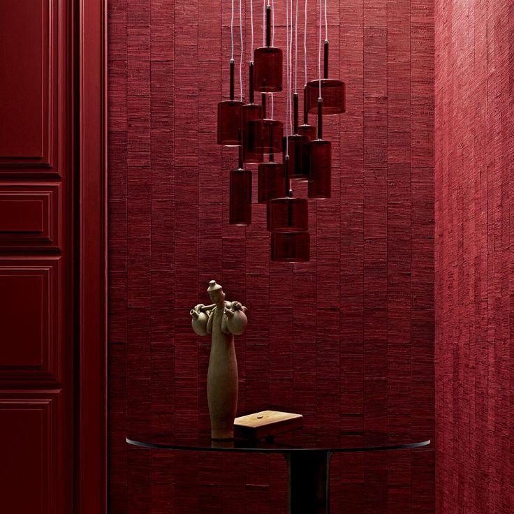 Pezzara leather tiles #architecture #design
