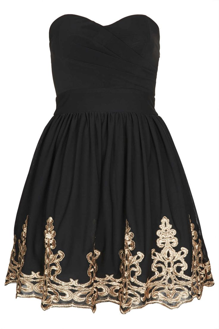 Lila Bandeau Dress by TFNC -- if i went to homecoming or prom i would definitely wear this