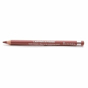 Rimmel 'Tiramisu' 1000 Kisses Lip Liner Pencil ~ 1/6 price makeup dupe of best selling MAC 'Spice' Lip Pencil #makeupdupe #makeup #dupes