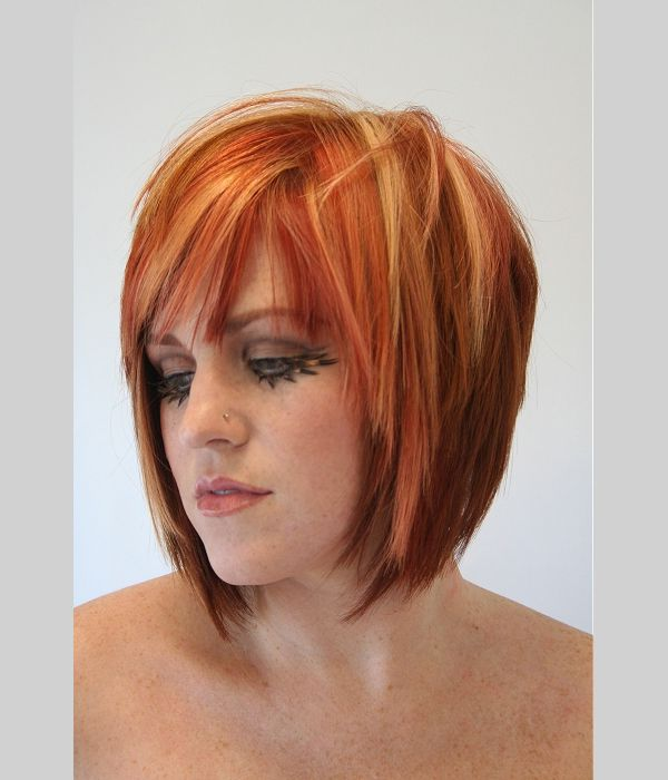 hair style for hair for the orange with suttle highlights pin 4333