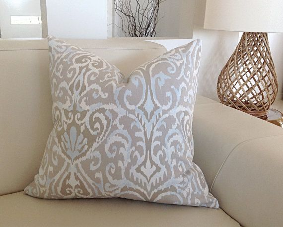 Hey, I found this really awesome Etsy listing at https://www.etsy.com/au/listing/238614954/ikat-blue-natural-cushions-coastal