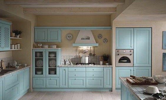 mavi ahşap mutfak dolapları - Google'da Ara