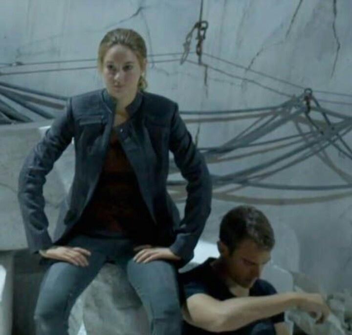Divergent behind the scenes
