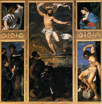 Polittico Averoldi, Tiziano, Chiesa dei Santi Nazaro e Celso, Brescia