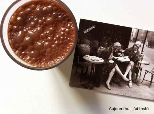 Cocoa & Banana Soy Milkshake, by Aujourd'hui, j'ai testé